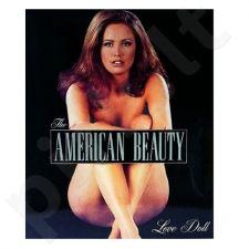 Vibruojanti sekso lėlė Amerikietiška gražuolė