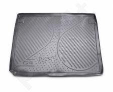 Guminis bagažinės kilimėlis CITROEN C4 Grand Picasso 2014-> black /N08014