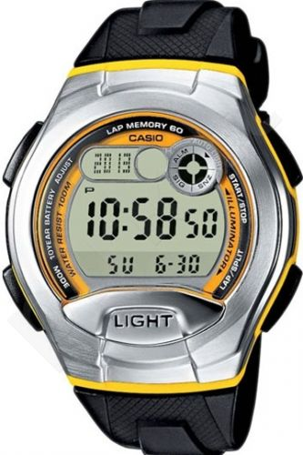Laikrodis CASIO    W-752-9B Illuminator.2 time zones. Multi  . Calendar. wr100  **ORIGINAL BOX**