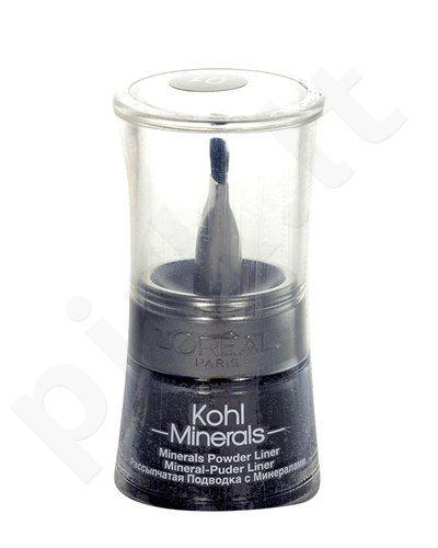 L´Oreal Paris Kohl Minerals pudra Liner akių kontūrų priemonė, kosmetika moterims, 2g, (05 Iced Chestnut)
