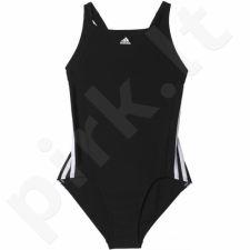 Maudymosi kostiumėlis Adidas Infinitex Essence Core 3-Stripes Junior BP5449
