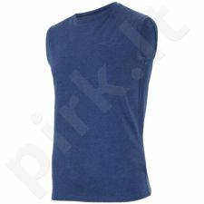 Marškinėliai 4f M H4L18-TSM001 tamsiai mėlyna