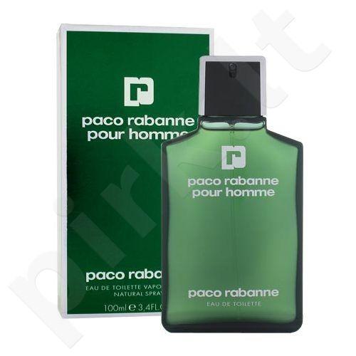 Paco Rabanne Pour Homme, tualetinis vanduo (EDT) vyrams, 100 ml (Testeris)