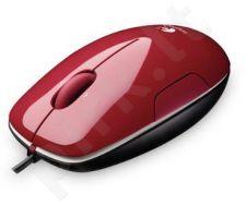 Pelė Logitech Mouse LS1 (cinammon) USB, Lazerinė