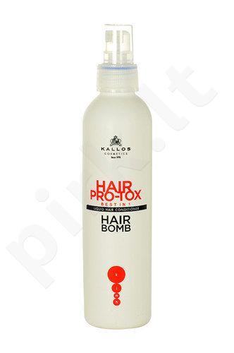 Kallos Hair Pro-Tox Maitinamasis kondicionierius išsausėjusiems ir pažeistiems plaukams, kosmetika moterims, 200ml