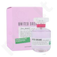 Benetton United Dreams Love Yourself, tualetinis vanduo moterims, 80ml