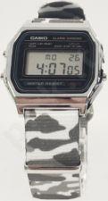 Laikrodis CASIO   A158W NATO CAMOUFLAGEWHITE ALPINE Timer.  . WR 31