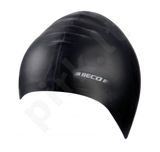 Kepuraitė plaukimui vaikams silikoninė 7399 0 black