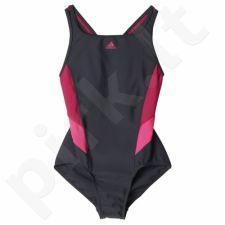 Maudymosi kostiumėlis Adidas Essence Flare Colorblocked Junior BP5761