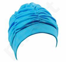 Kepuraitė plaukimui moterims PE 7600 66 turq.
