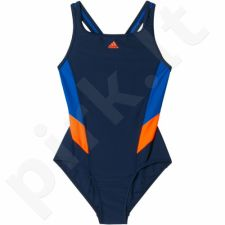 Maudymosi kostiumėlis Adidas Essence Flare Colorblocked Swimsuit Junior BP5762