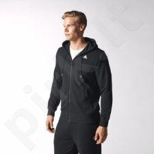 Bliuzonas  treniruotėms Adidas Sport Essentials Full Zip Hoodie French Terry M S17616