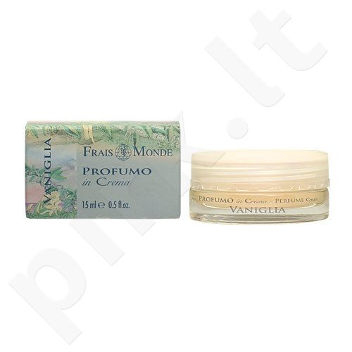 Frais Monde Perfume kremas Vanilla, kosmetika moterims, 15ml