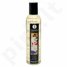 Masažo aliejus Shunga Aphrodisia - Rožės 250 ml