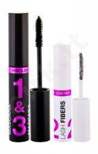 Wet n Wild Lash-O-Matic, rinkinys blakstienų tušas moterims, (blakstienų tušas 11 ml + Lash Fibers 1 g), (Very Black)