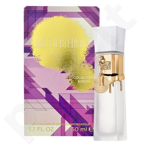 Justin Bieber Collector´s Edition, EDP moterims, 50ml