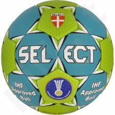 Rankinio kamuolys SELECT Solera 3 mėlyna-žalia