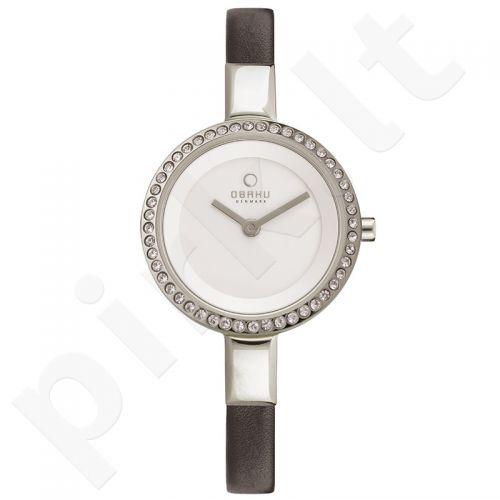Moteriškas laikrodis OBAKU OB V129LCIRB-3
