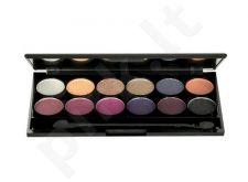 Sleek MakeUP I-Divine akių šešėliai Palette, kosmetika moterims, 13,2g, (141 Vintage Romance)