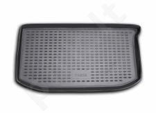 Guminis bagažinės kilimėlis FIAT Panda hb 2003->  black /N13010
