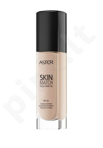 Astor Skin Match Fusion Make Up SPF20, kosmetika moterims, 30ml, (100 Ivory)