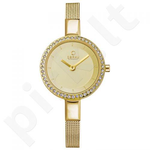 Moteriškas laikrodis OBAKU OB V129LEGGMG