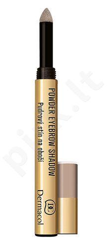 Dermacol pudra Eyebrow Shadow, kosmetika moterims, 1g, (1)