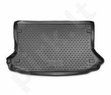Guminis bagažinės kilimėlis FORD Eco Sport 2014-> cross black /N14002