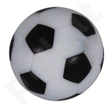 Stalo futbolo kamuoliukas, juodai baltas