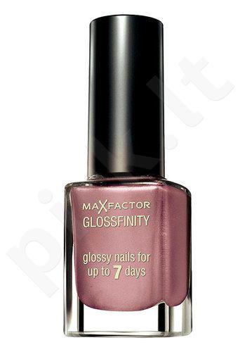 Max Factor Glossfinity nagų lakas, kosmetika moterims, 11ml, (42 Rose Romance)
