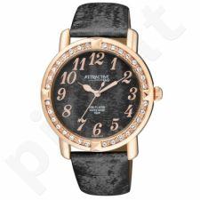 Moteriškas laikrodis Q&Q Atractive DA93J105Y