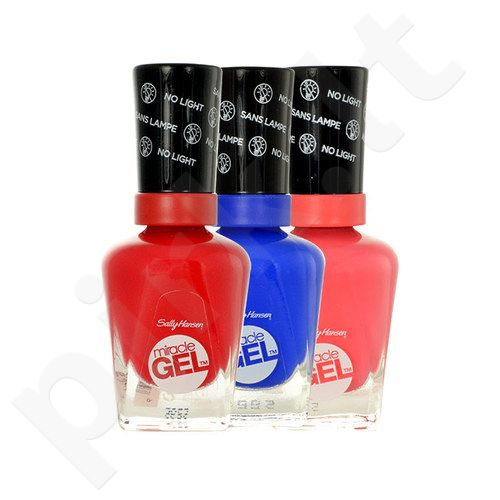 Sally Hansen Miracle gelis, kosmetika moterims, 14,7ml, (470 Red Eye)