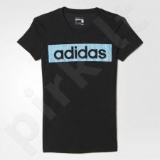 Marškinėliai Adidas Essentials Linear Tee W AY4832
