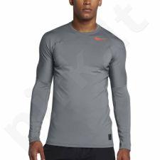 Marškinėliai treniruotėms Nike Pro Hyperwarm M 838026-065