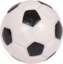 Stalo futbolo kamuoliukas, juodai baltas 32mm