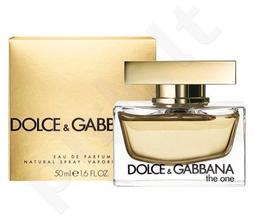Dolce & Gabbana The One, kvapusis vanduo moterims, 50ml[pažeista pakuotė]