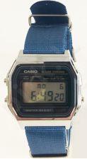 Laikrodis CASIO   A158W NATO KHAKI AVIO Timer.  . wr 30