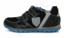 D.D. step juodi batai 28-33 d. da071706al