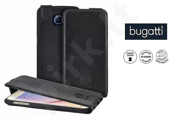Samsung Galaxy S6 dėklas flip AMSTERD Bugatti v. juodas