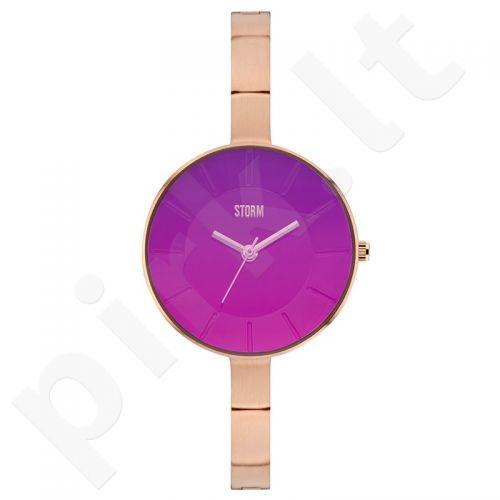 Moteriškas laikrodis STORM AZEERA RG-PURPLE