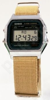 Laikrodis CASIO   A158W NATO KHAKI DESERTimer.  . wr 32