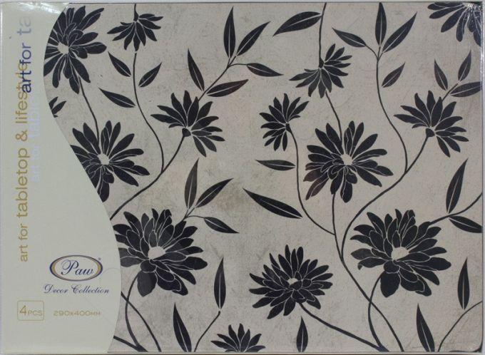 Staltiesėlė Flowery Decor Black Maxi 96139