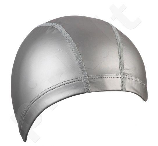 Kepuraitė plaukimui vyrams PU 7729 11 silver
