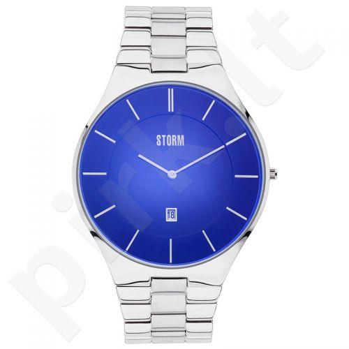 Vyriškas laikrodis STORM SLIM-X XL LAZER BLUE