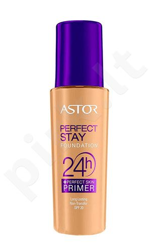 Astor Perfect Stay pagrindas 24h + Primer SPF20, kosmetika moterims, 30ml, (300 Beige)