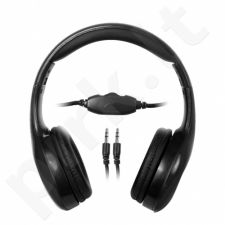 Stereo ausinės MSONIC Garsumo valdymas MH531K juodas