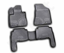 Guminiai kilimėliai 3D KIA Sorento 2009-2012, 4 pcs. /L38043