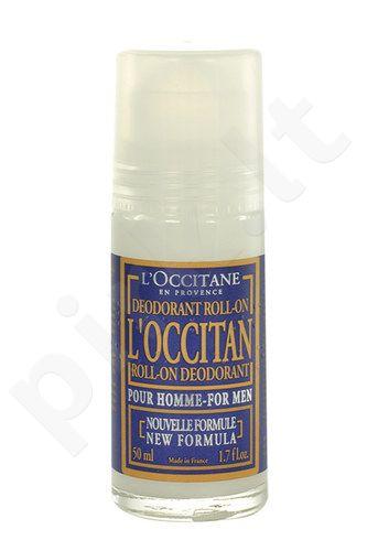 L´Occitane Roll-on dezodorantas For Men, kosmetika vyrams, 50ml