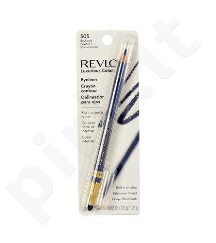 Revlon Luxurious Color akių kontūrų priemonė, kosmetika moterims, 1,22g, (501 Black Velvet)
