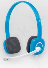 Ausinės Logitech Stereo H150 Blueberry